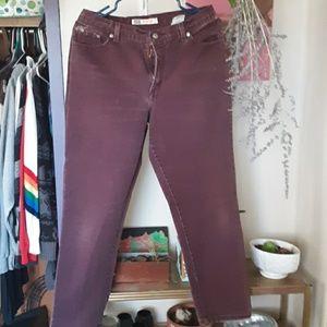 Purple Jean's.